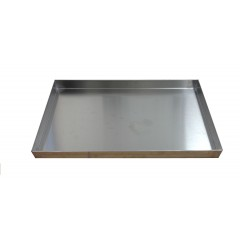 Kantine/Bradepande rustfri (460x330x40)
